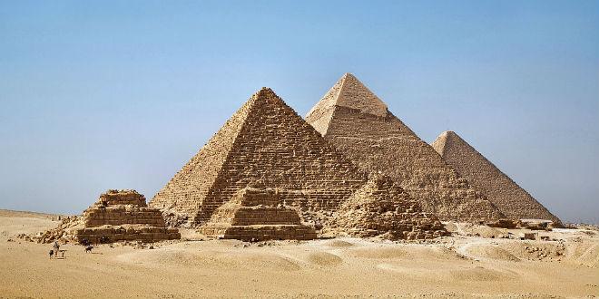 Giza Pyramids in Egypt. (Photo: Ricardo Liberato/ Wiki Commons)