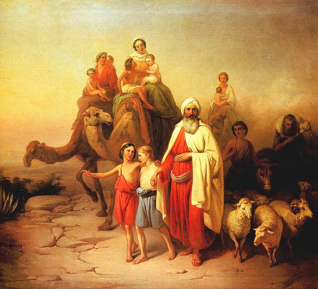 abraham's departure