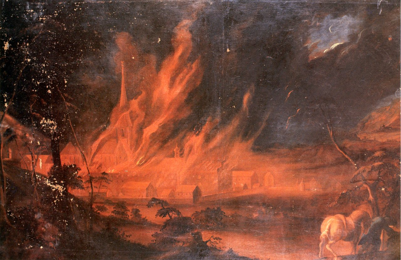 Apocalypse.  (Art by Andreas Brugger/Wikimedia Commons)