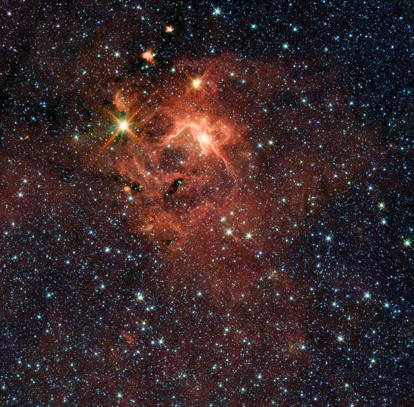 A star-forming region. (Photo: NASA/Wikimedia Commons)