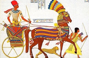 Egyptian Chariot [Image: Wikimedia Commons]
