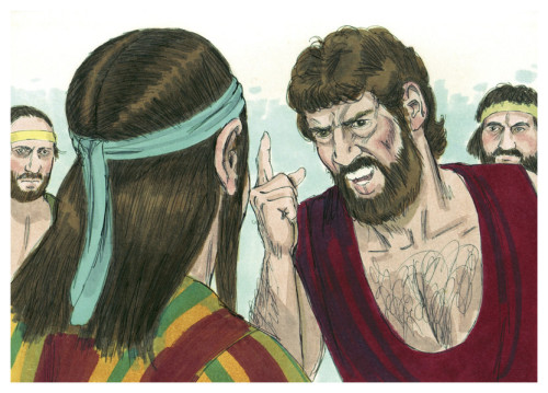 Joseph and his Brothers [Illustration: Jim Padgett via Wikimedia Commons]