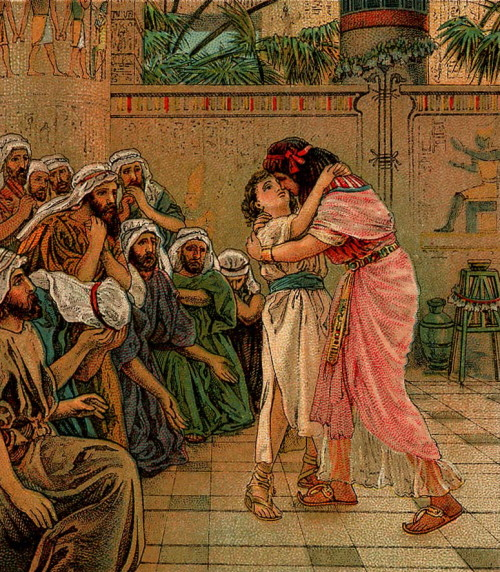 Joseph Forgives his Brothers [Image: Wikimedia Commons]