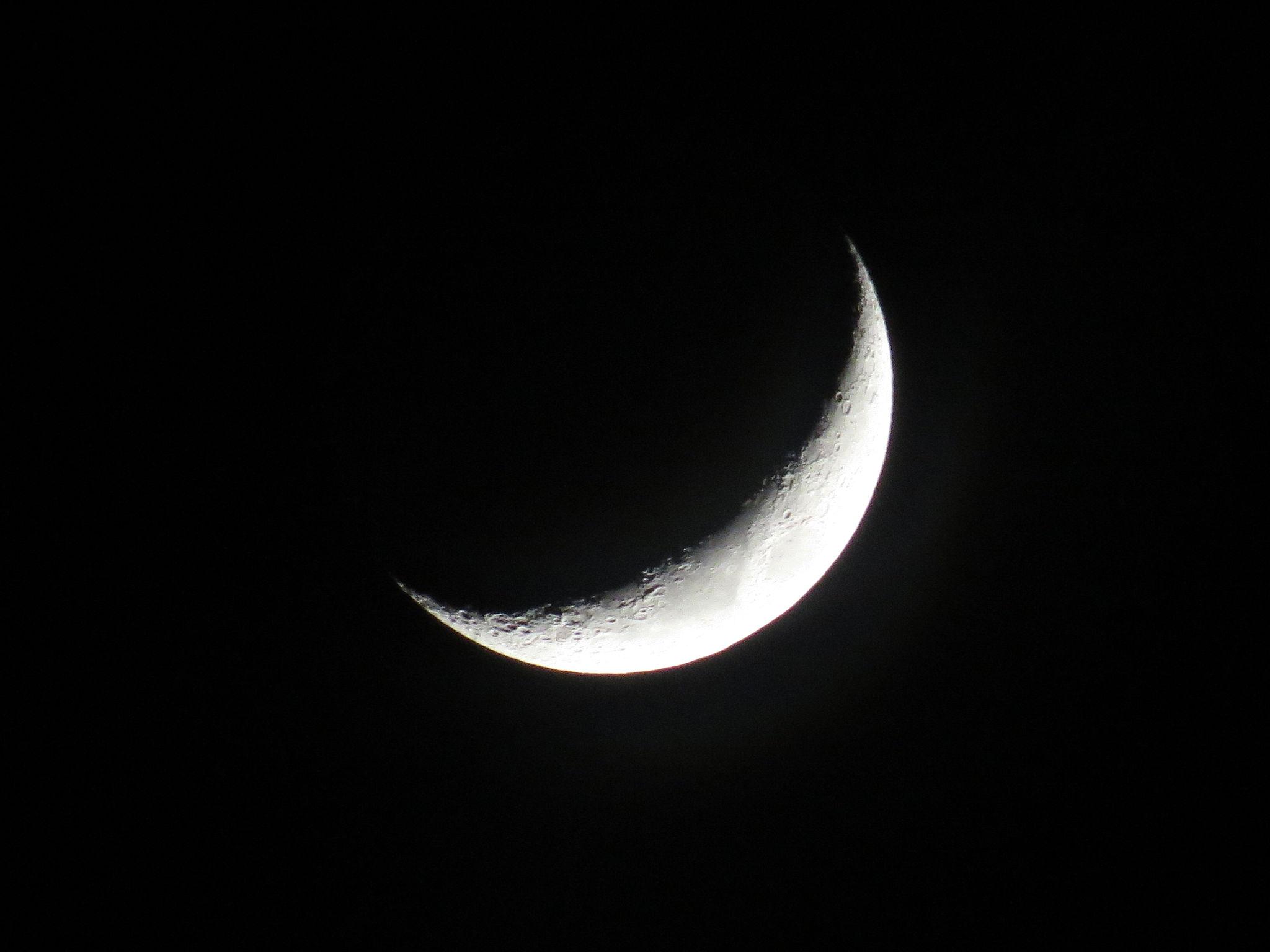 New Moon [Photo: Wikimedia Commons]