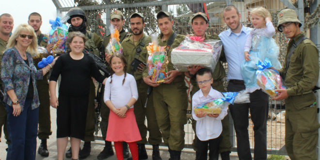 purim idf base 3