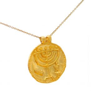 menorah-medallion-necklace